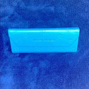 Warby Parker leather glasses case magnetic closure